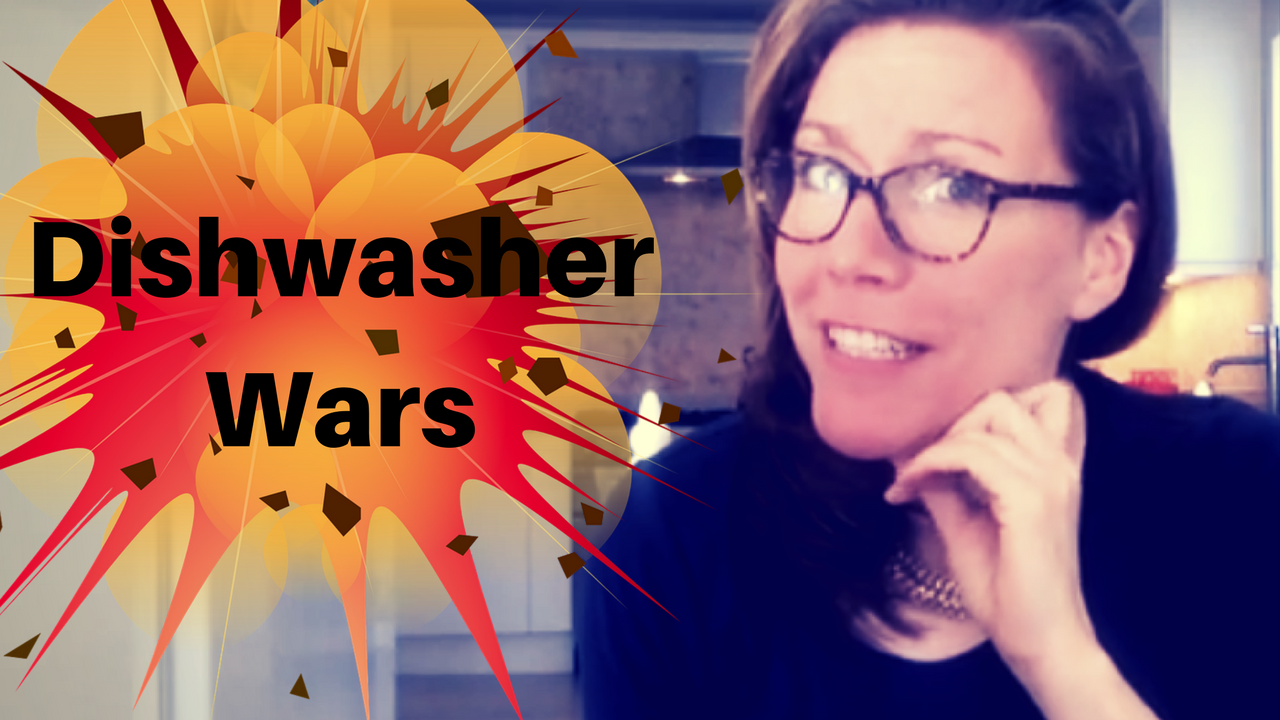 Dishwasher Wars … Load The Dishwasher Like a Boss