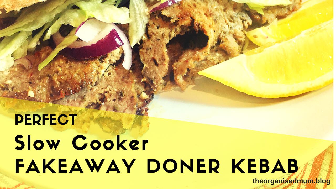Slow Cooker Fakeaway Doner Kebab