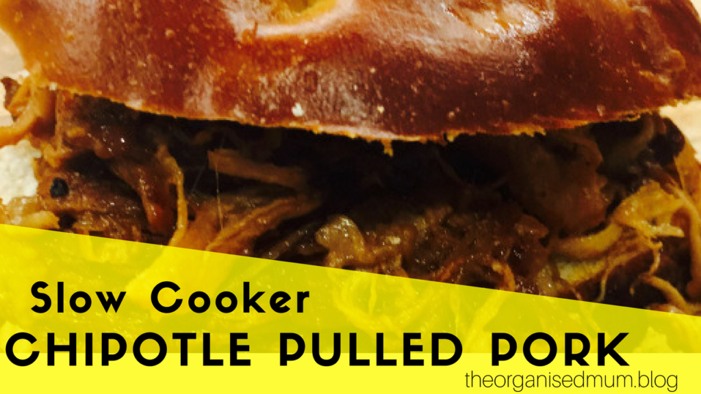 Slow Cooker Chipotle Pulled Pork
