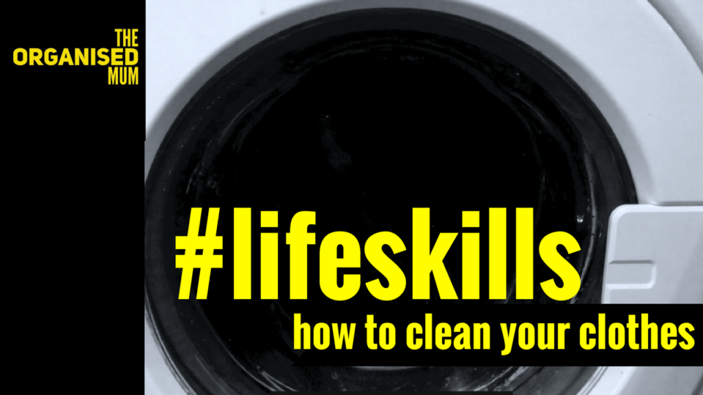 #LifeSkill: How To Clean Your Clothes!
