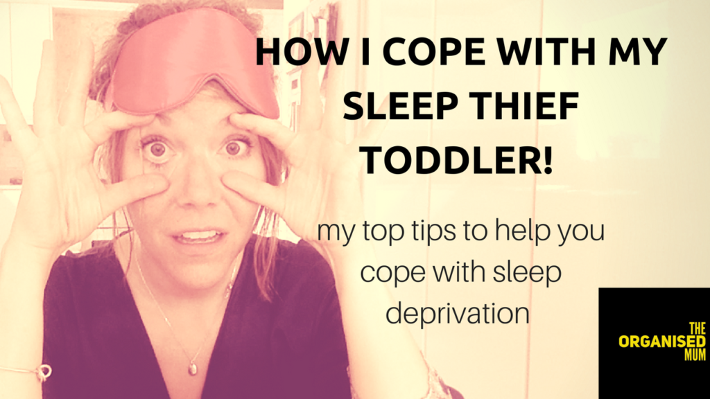 My Toddler is a Sleep Thief! How I Cope With Sleep Deprivation!