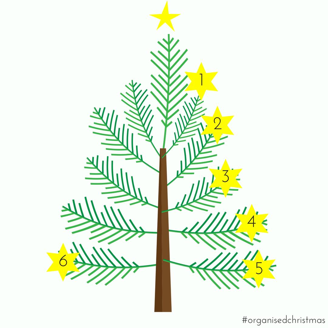 Organised Christmas: Week 6