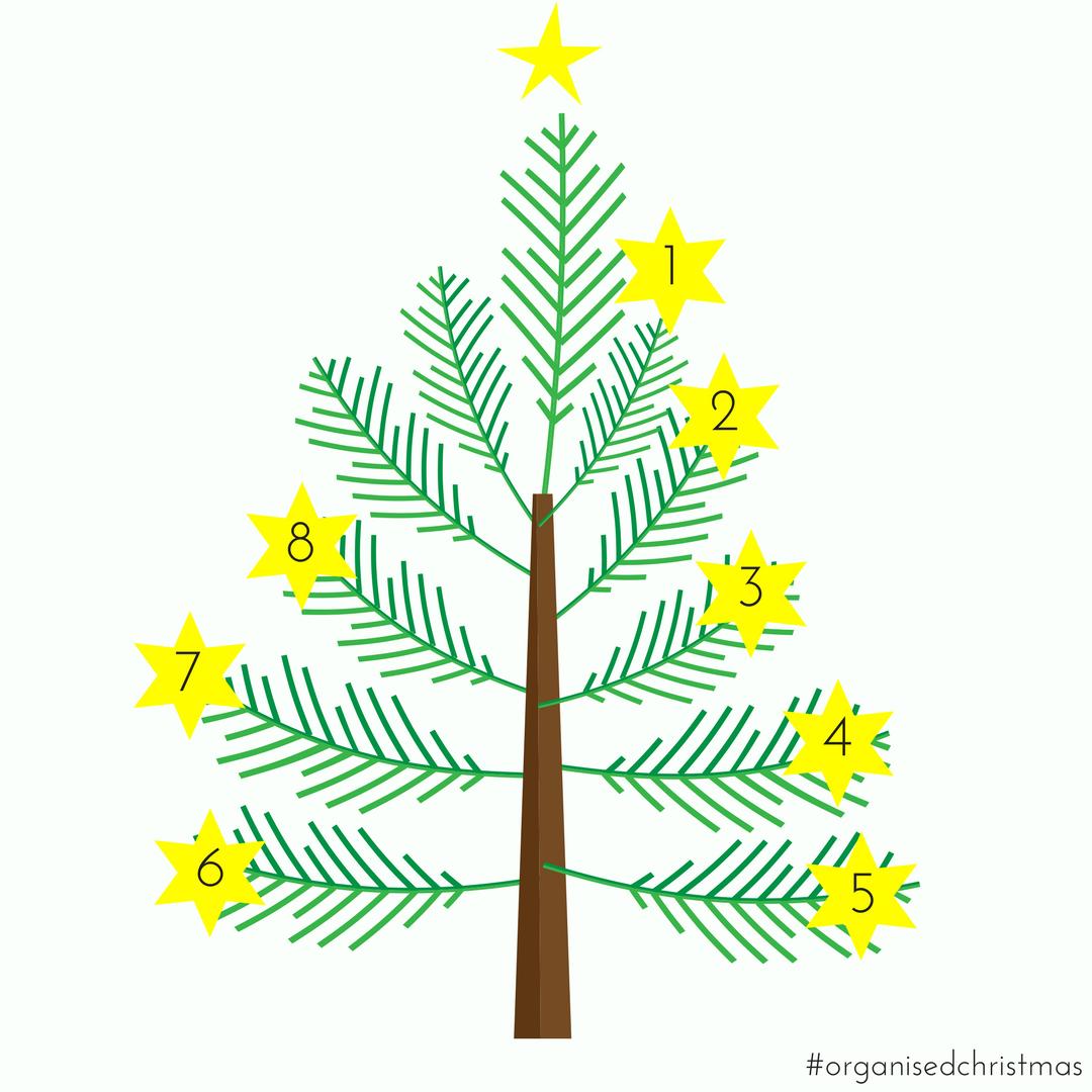 Organised Christmas: Week 8