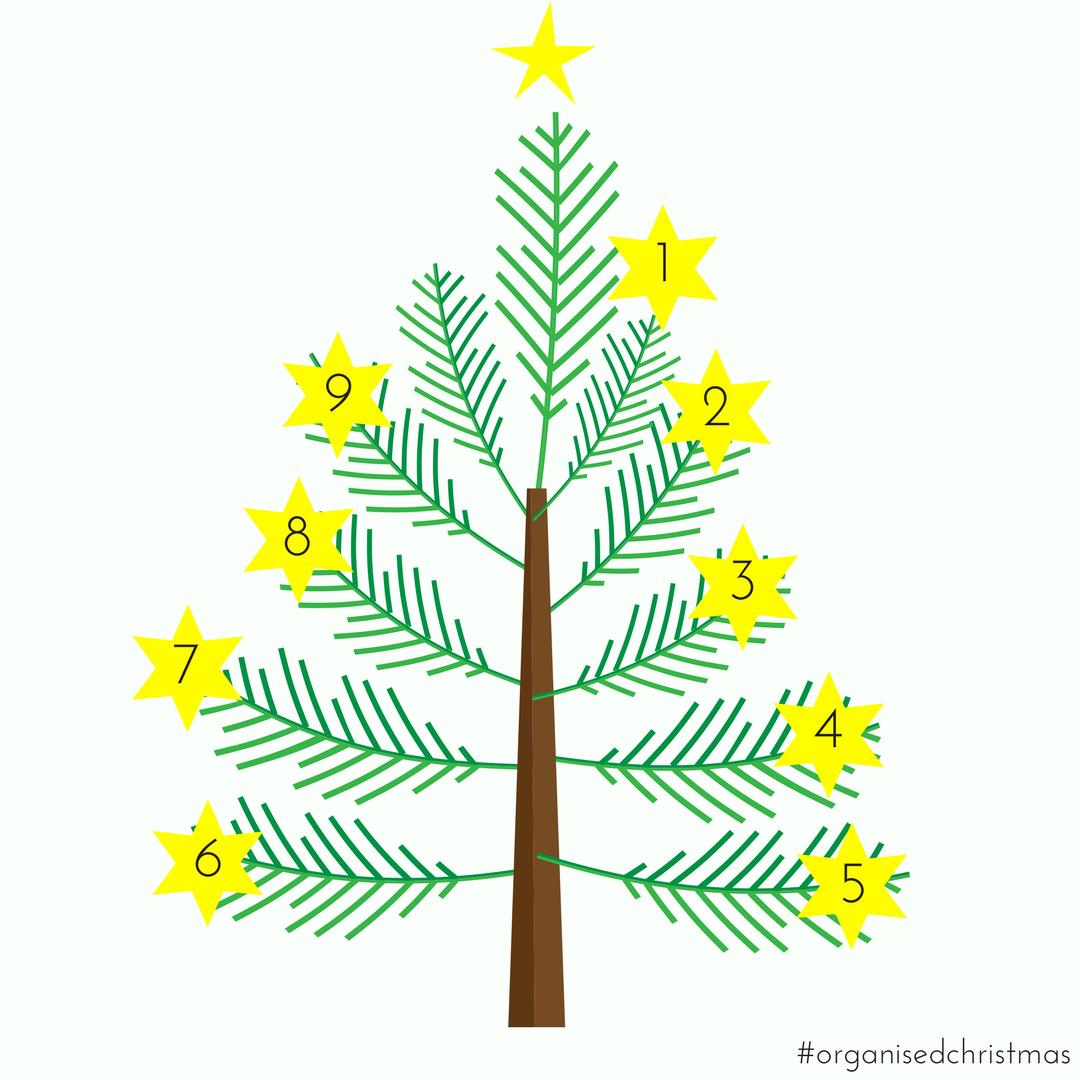 Organised Christmas: Week 9
