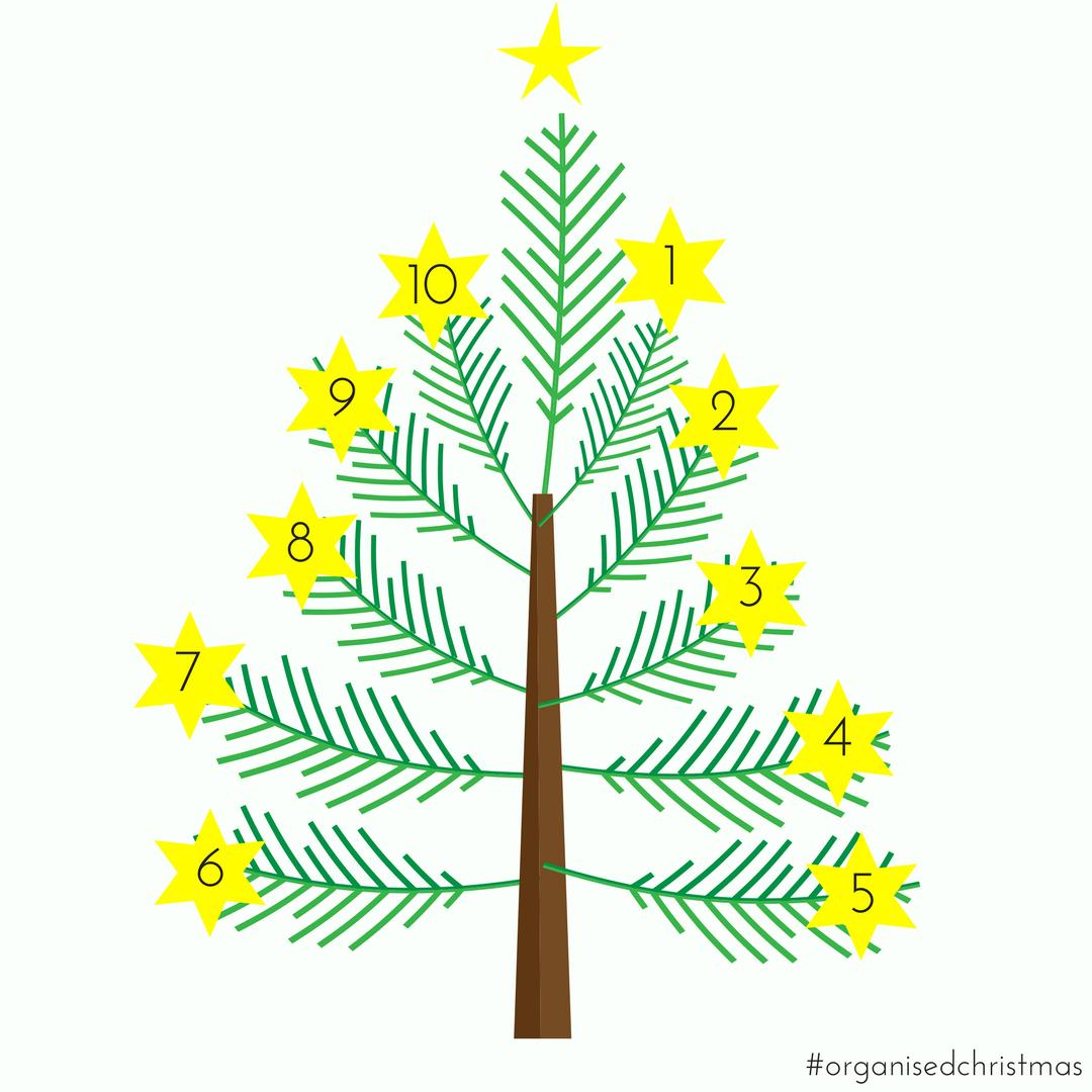 Organised Christmas: Week 10