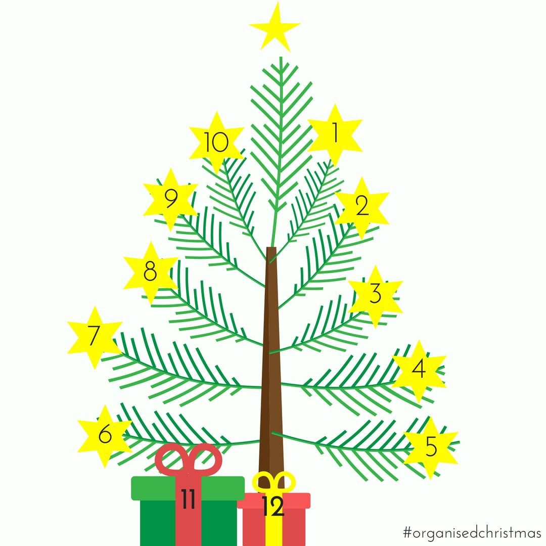 Organised Christmas: Week 12