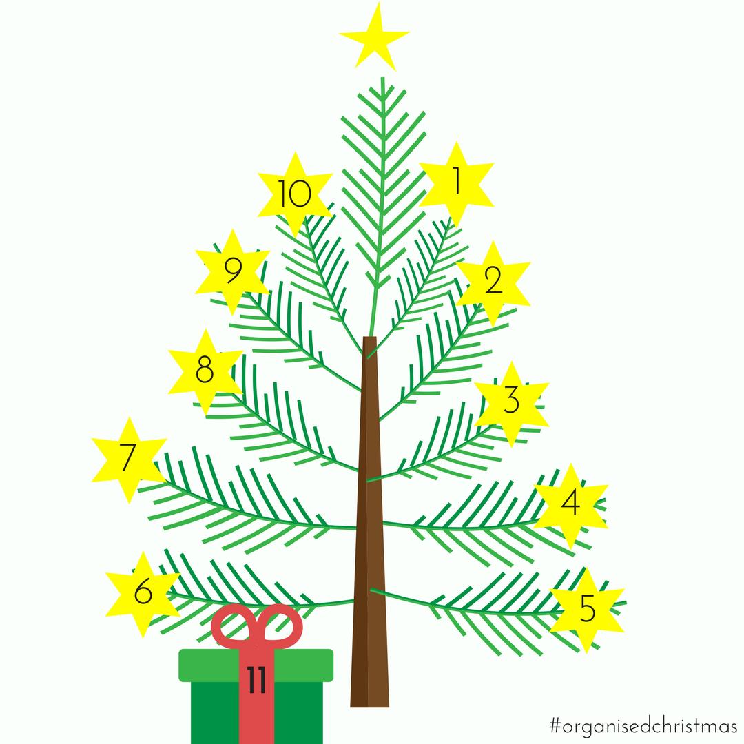 Organised Christmas: Week 11