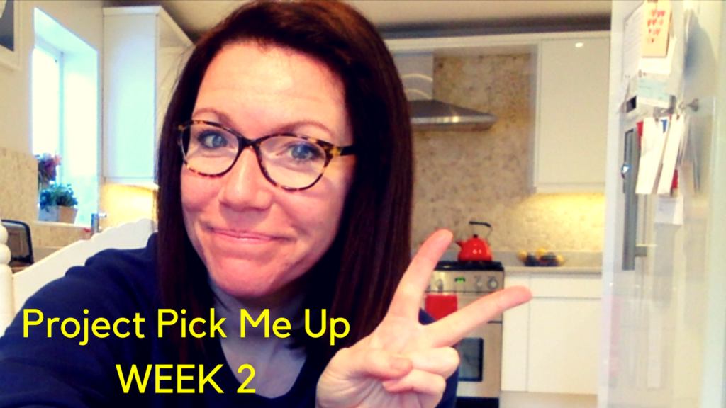 Project Pick Me Up |Week 2