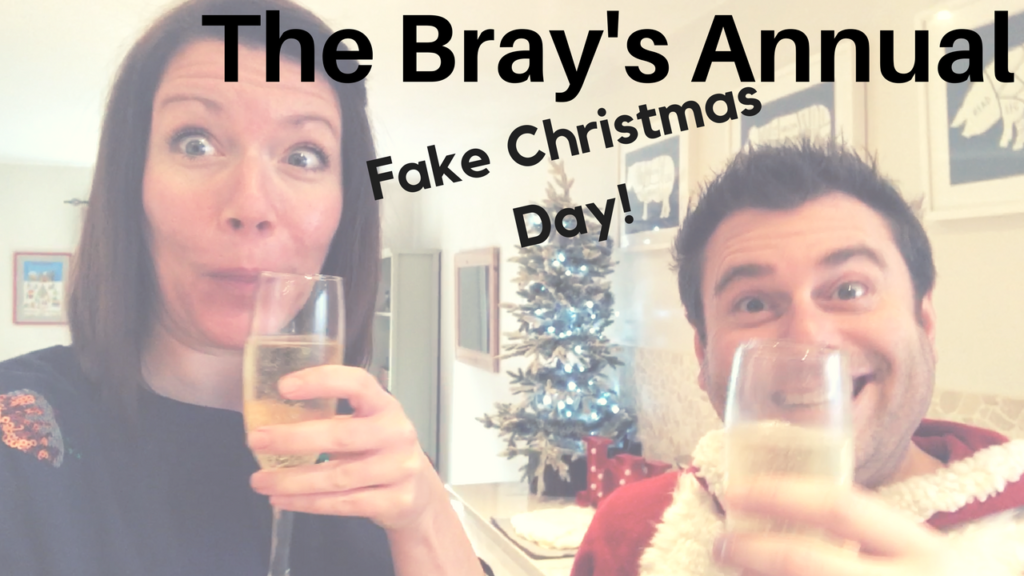 Fake Christmas Day | A Bray Family Tradition (The Vlog!)