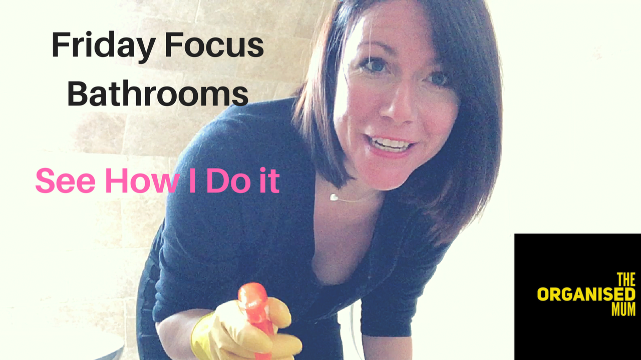 See How I Do It! Friday Focus: Bathrooms!