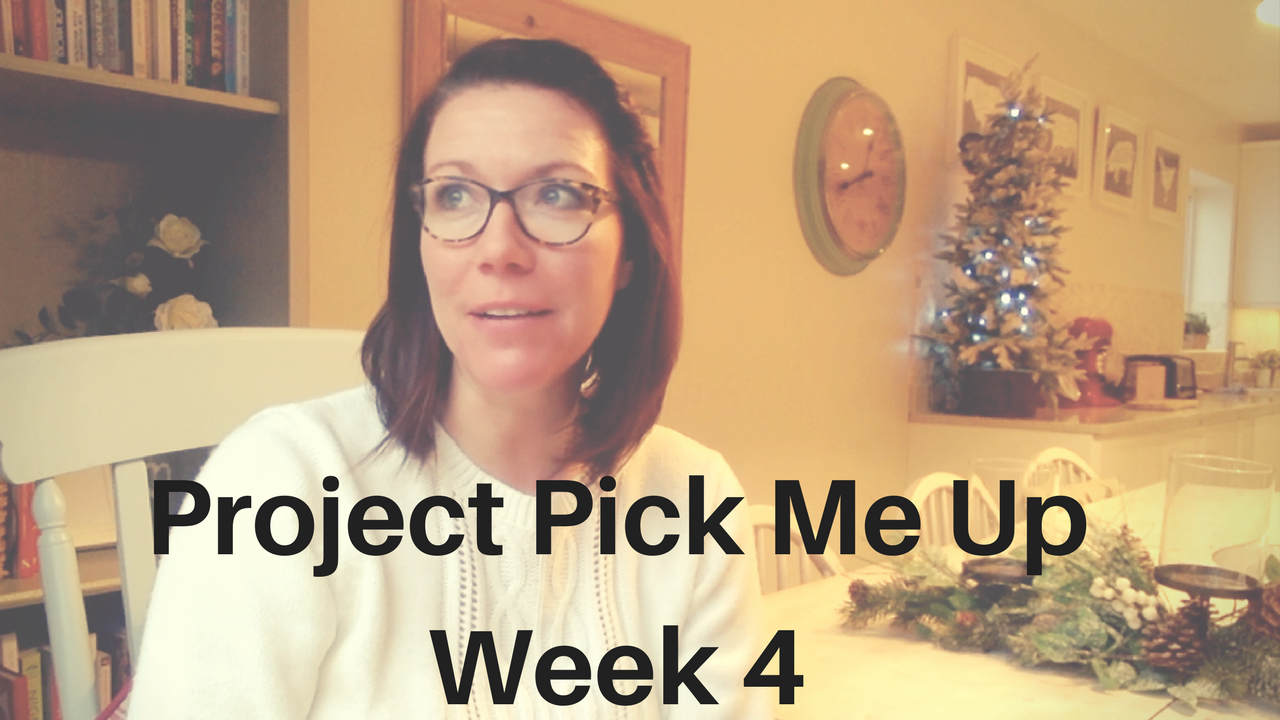 Project Pick Me Up| Week 4