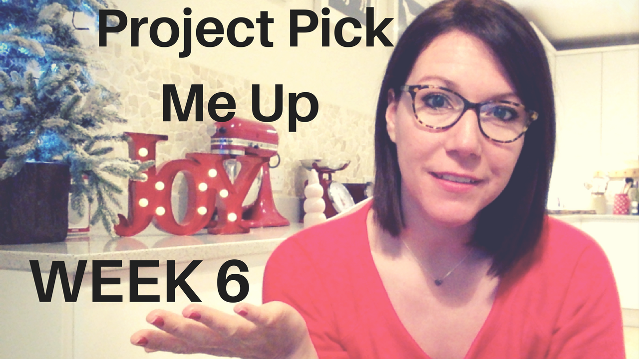 Project Pick Me Up | Week 6