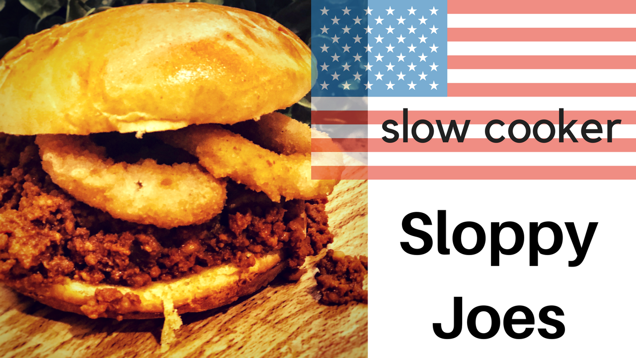 AWESOME Slow Cooker Sloppy Joes