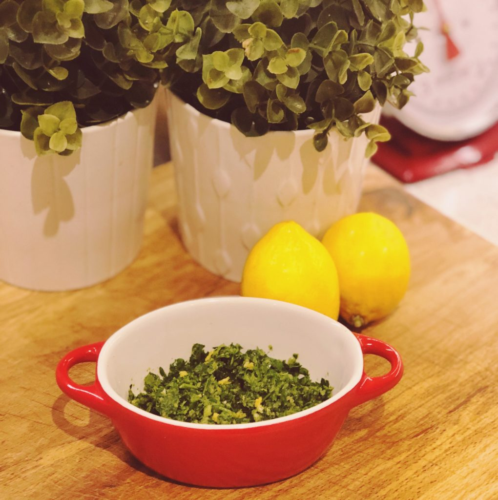 Easy Gremolata – Perfect With Fish!