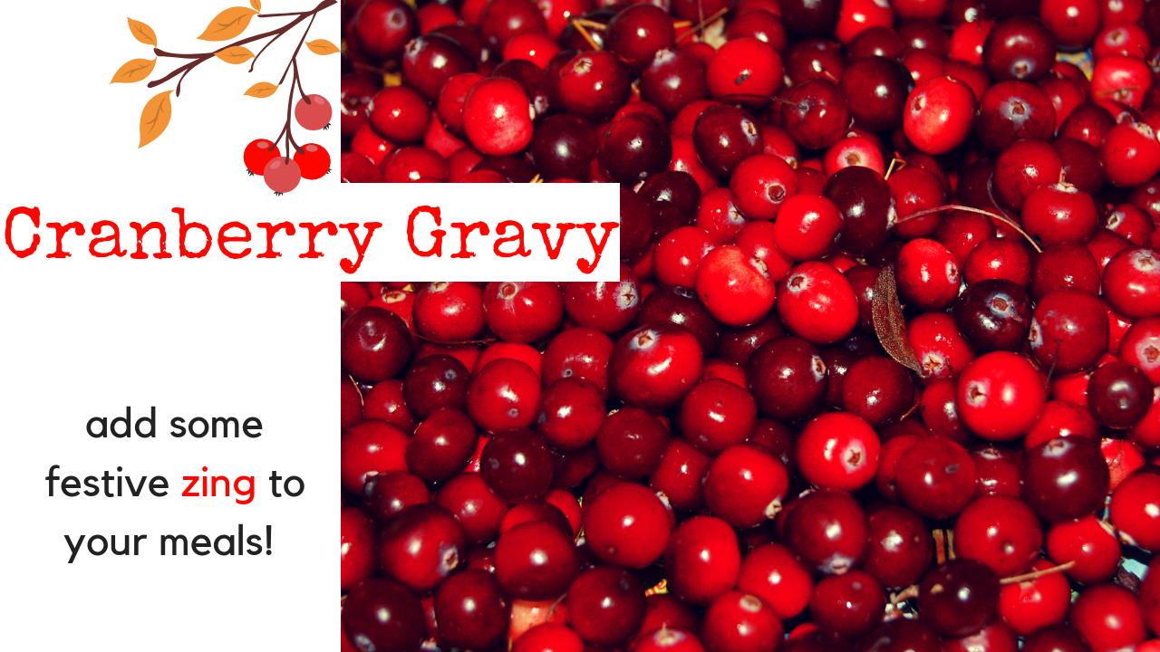 Cranberry Gravy