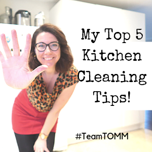 My Fave Kitchen Cleaning Tips
