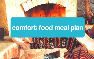 Comfort Food Meal Plan