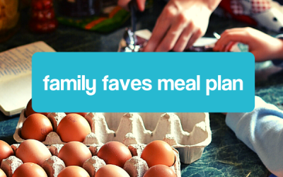 Family Faves Mealplan